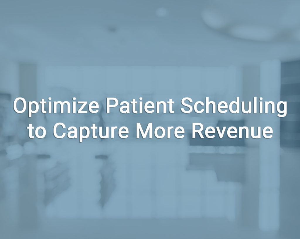 Optimize Patient Scheduling