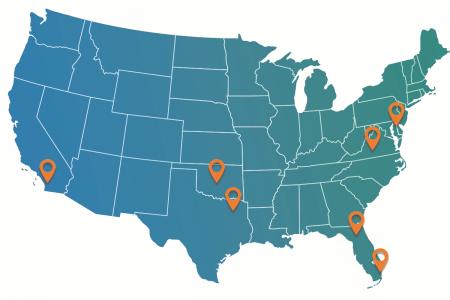 Medusind Map of Locations