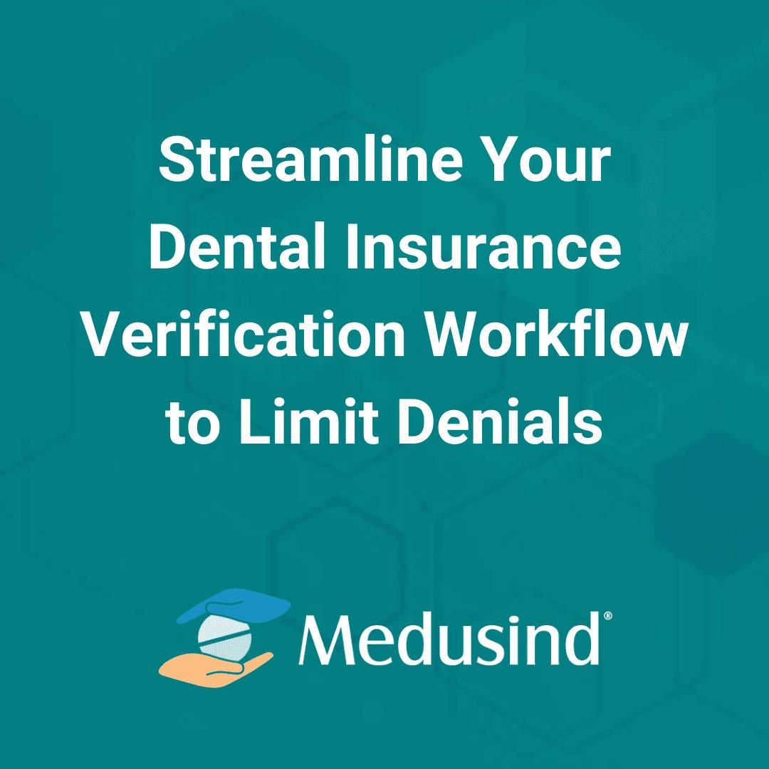 Dental Insurance Verification